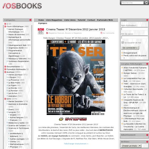 magazines français gratuits