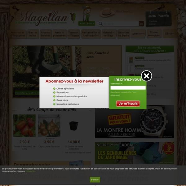 Produits bio jardin et maison - Magellan Bio