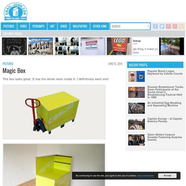 Magic Box - Photo - email-junk.com