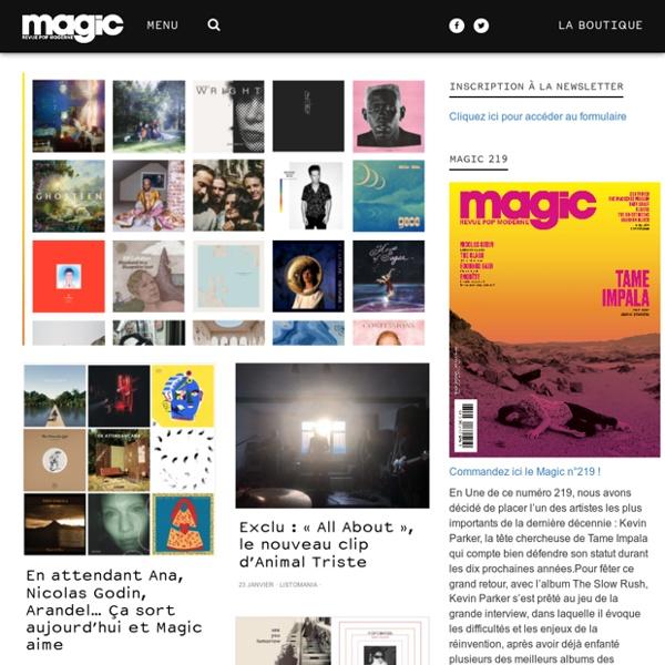Magicrpm : news indie-pop-rock, infos musique, concerts-live, video-clip, interviews, albums, actu