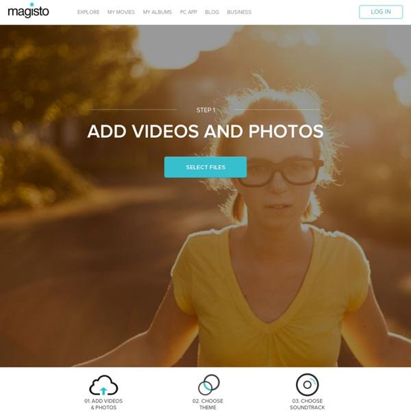 Magisto - Upload Video