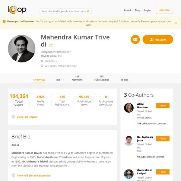 Mahendra Kumar Trivedi - Biofield Energy Treatment