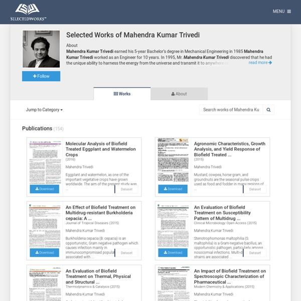 Trivedi Global Inc., Independent Researcher