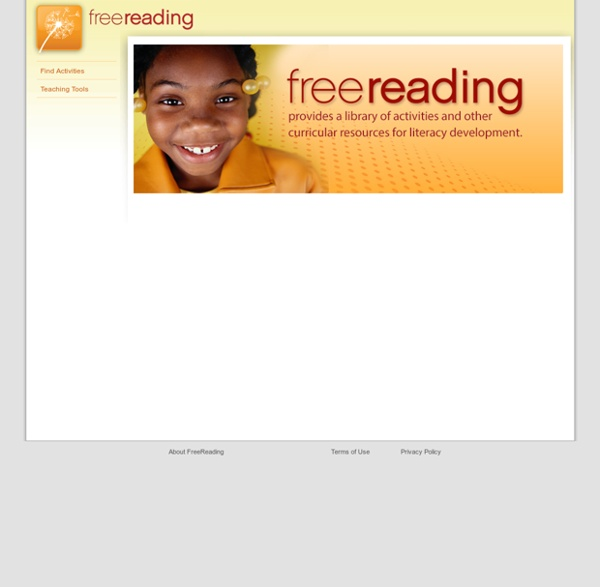Main Page - FreeReading