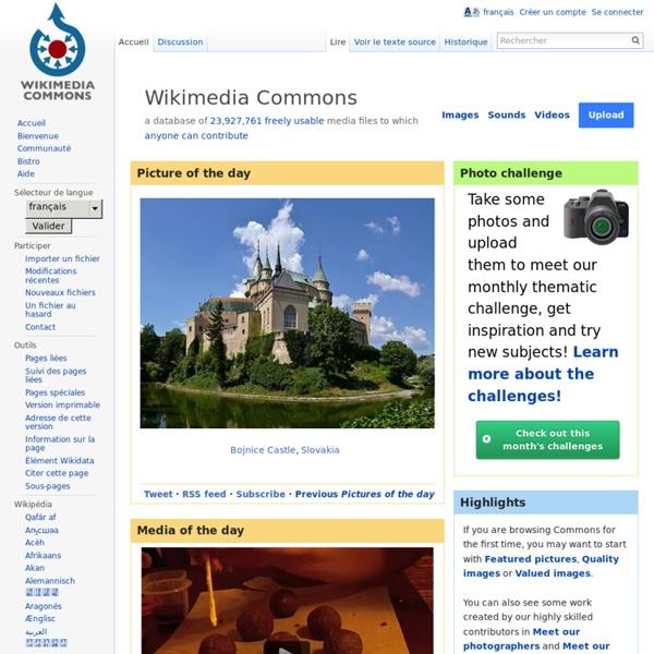 Wikimedia Commons - Multimédias