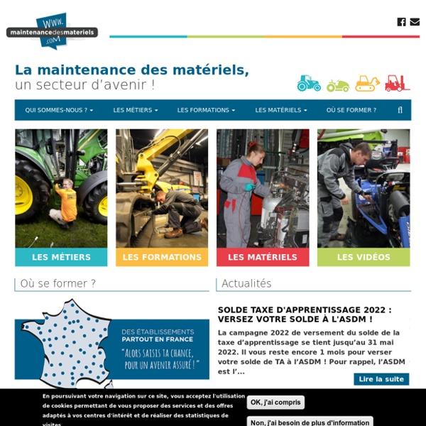 Site maintenancedesmatériels.com