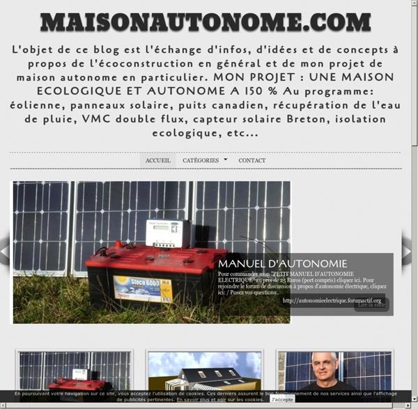 MaisonAutonome.com