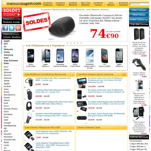 MaisonduGSM- Accessoire Telephone Portable, Mobile, Tablette Tactile et Consoles de Jeux Vidéo