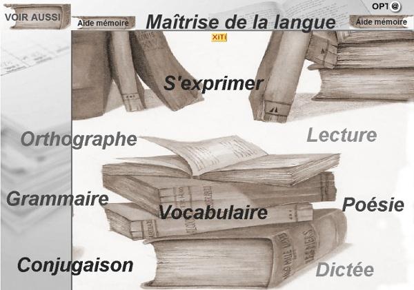 Activités - MAITRISE DE LA LANGUE CYCLE III