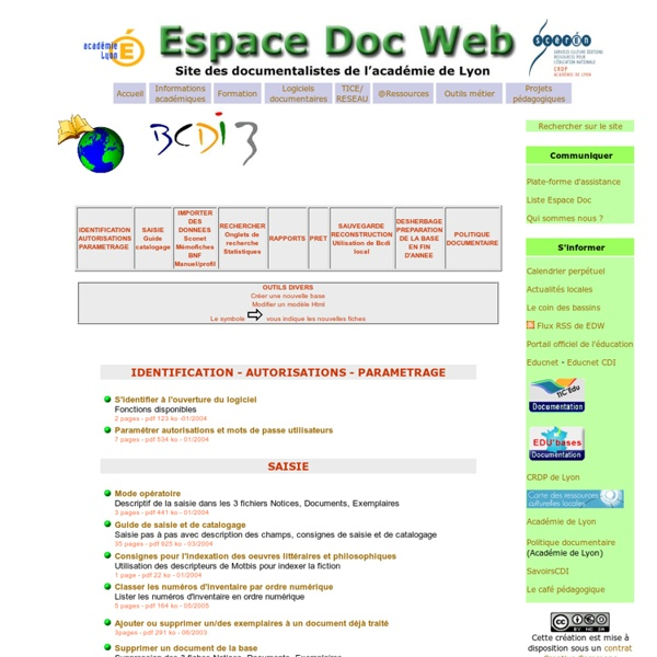 Maîtriser Bcdi 3 - Espace Doc Web - Académie de Lyon