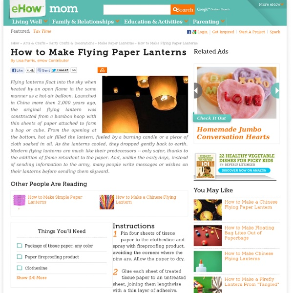 How to make a diwali paper lantern ehow party for How to build a chinese lantern