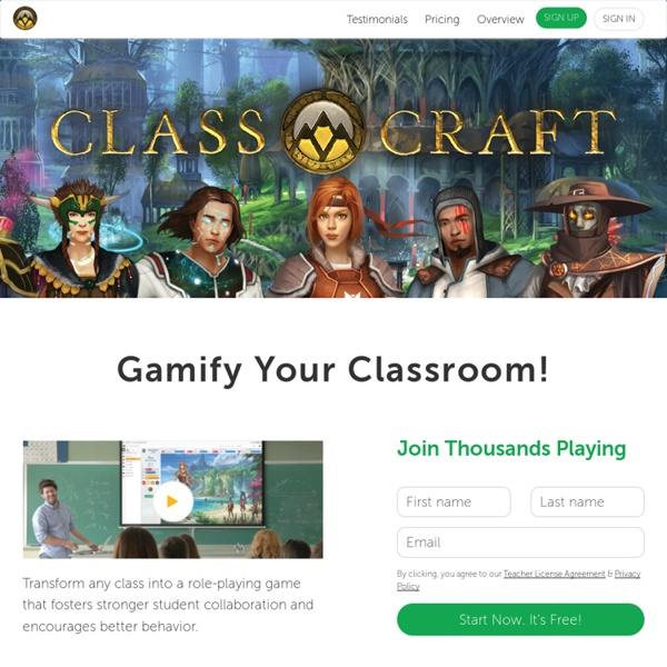 Classcraft – Make learning an adventure