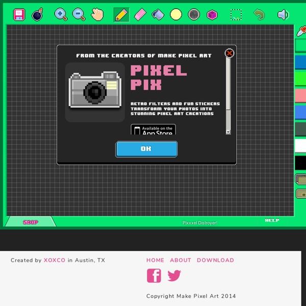 Make Pixel Art - The Original Pixel Art Drawing App for iPad, Mac and PC!