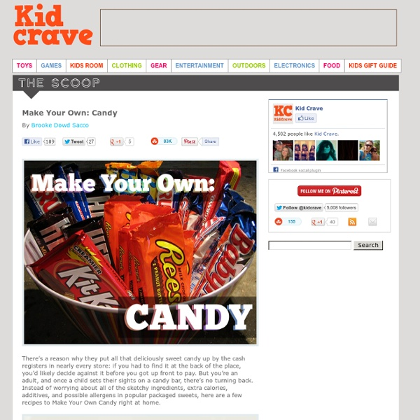Make Your Own: Candy