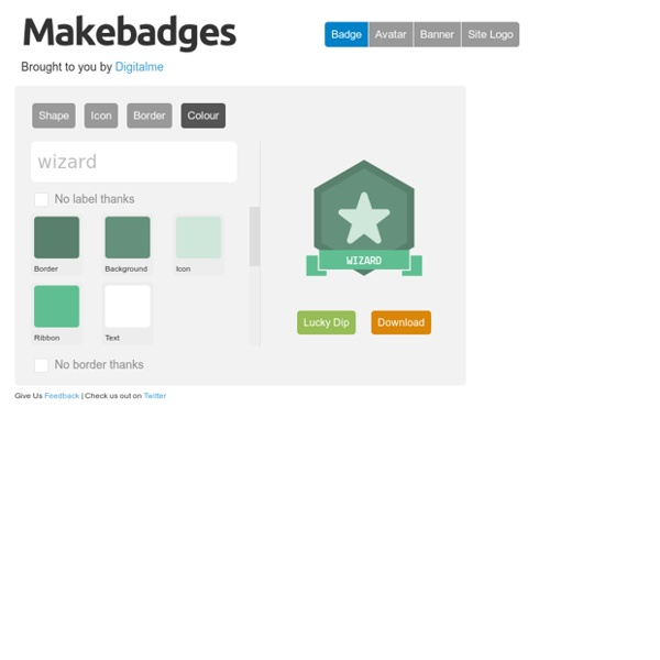 - the badge design tool for schools - by Makewaves