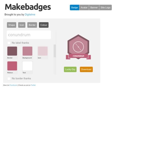 Es - la herramienta de diseño de la insignia para las escuelas - por Makewaves