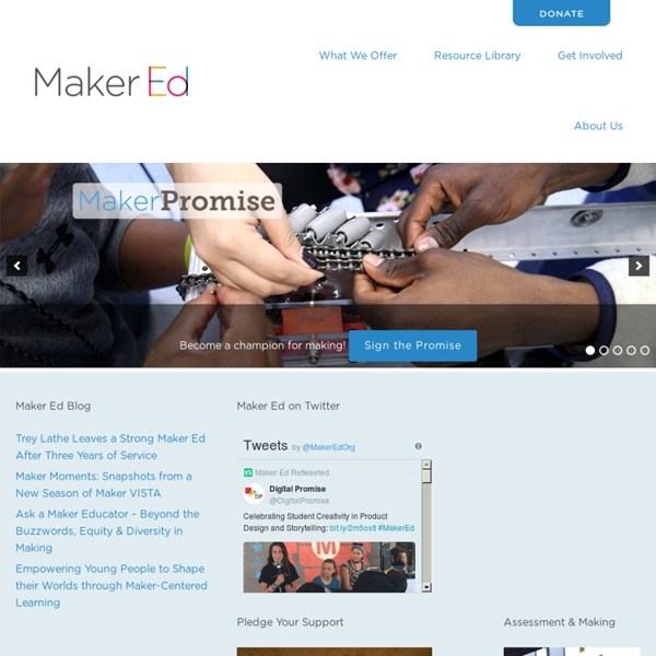 Maker Education Initiative – Every Child a Maker