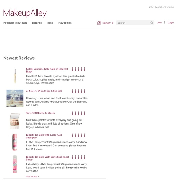 Makeupalley - Street Smart Beauty - Homepage