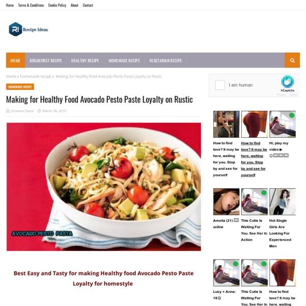 Making for Healthy Food Avocado Pesto Paste Loyalty on Rustic