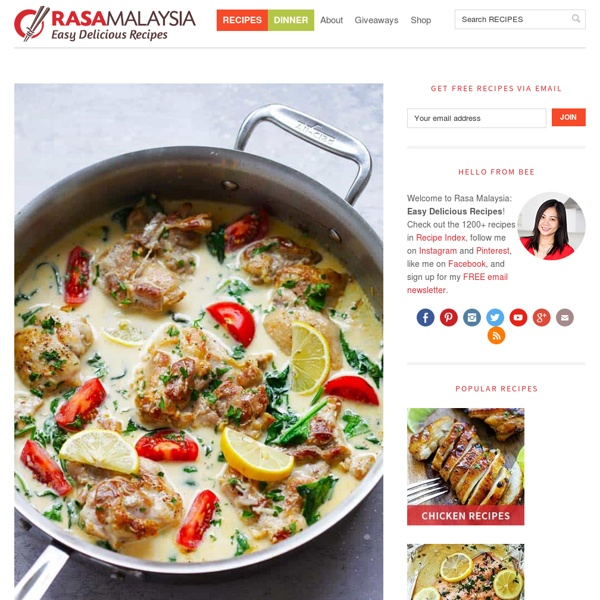 Rasa Malaysia: Easy Asian Recipes