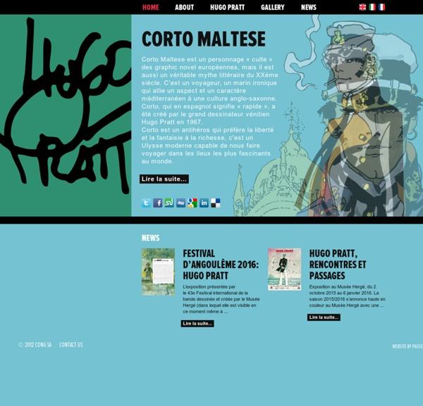 Le Site Officiel de Corto Maltese