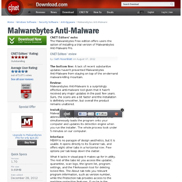 how to download malwarebytes free version