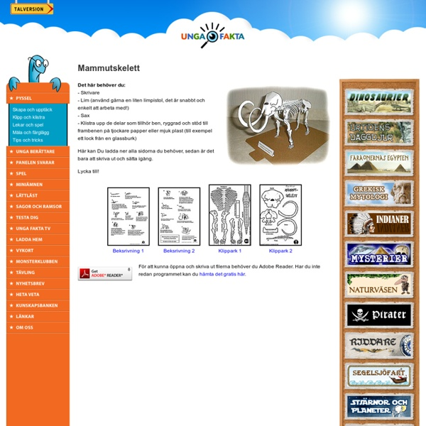 Mammutskelett