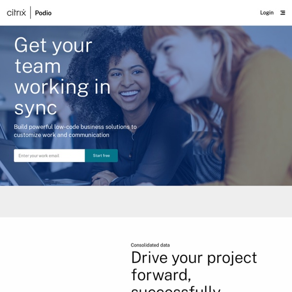 Podio: Project Management and Collaboration Software