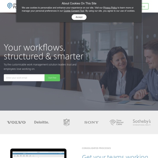 Project Management Software, CRM, Sales, Intranet - thousands of apps - Podio