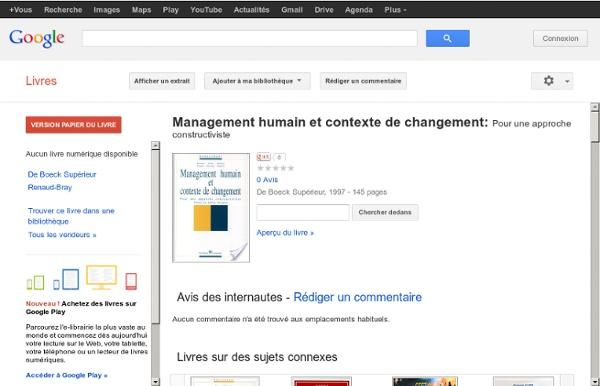 Management humain et contexte de ...