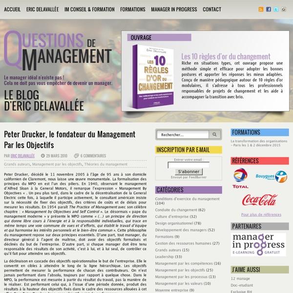 Peter Drucker, le fondateur du Management Par les Objectifs