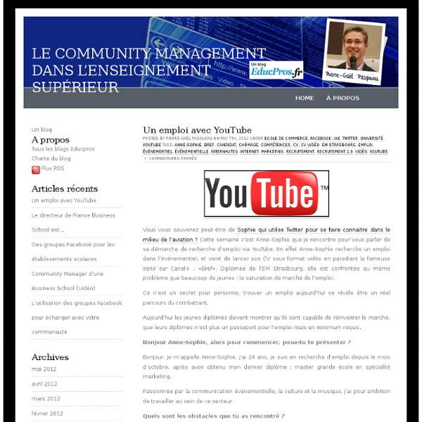 Le community management dans l'enseignement supérieur