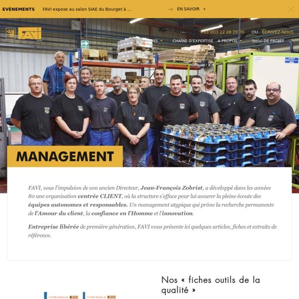 Management FAVI - Le système FAVI