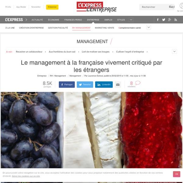 Le management à la française vivement critiqué par les étrangers
