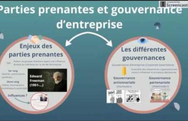 Parties prenantes et gouvernance d'entreprise
