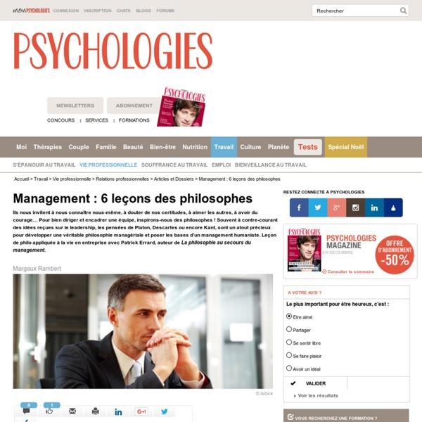 Management : 6 leçons des philosophes
