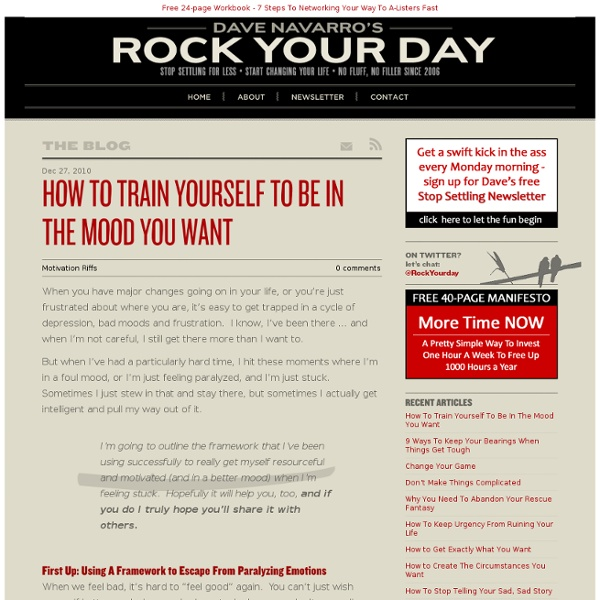 Rock Your Day - Time Management Tips & Business Productivity Techniques
