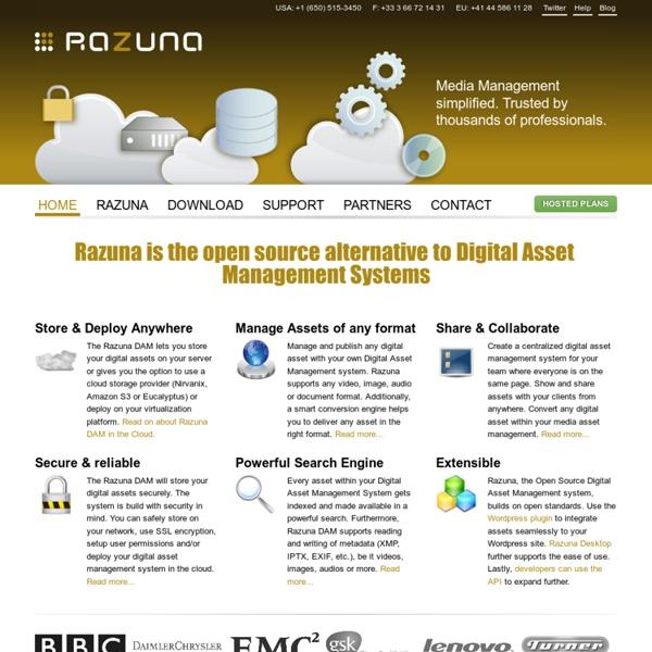 Digital Asset Management, Open Source, Media Asset Management, Software, Systems, System, DAM, Solution