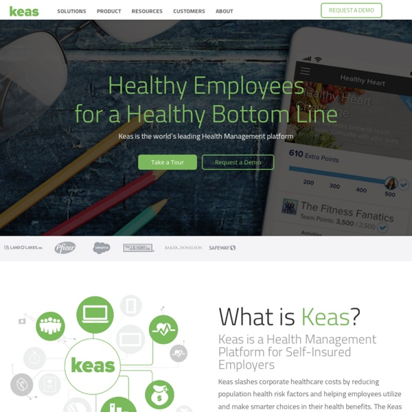Keas - Workplace Health & Fitness Programs - Social Gaming