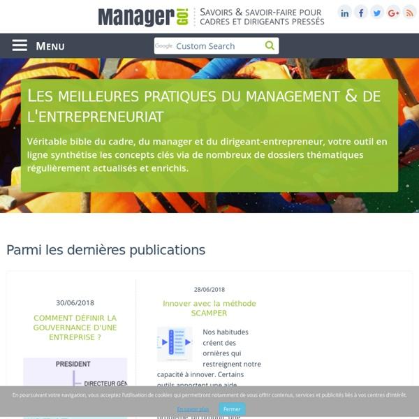 Manager GO! - sélection de ressources pour le management