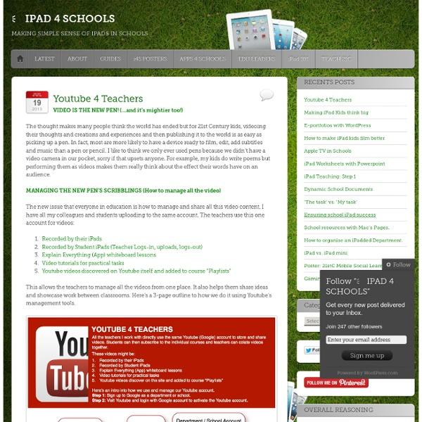 Youtube 4 Teachers