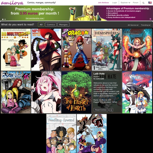 Manga, BD et jeux : Amilova