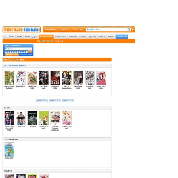 Tous les Mangas en ligne