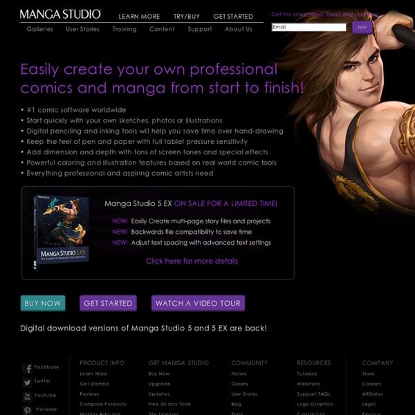 Manga Studio - Official Website