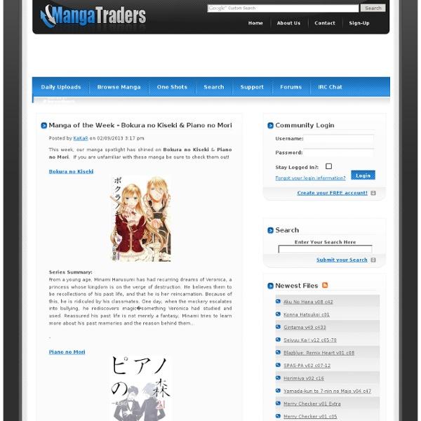 Free Manga Downloads