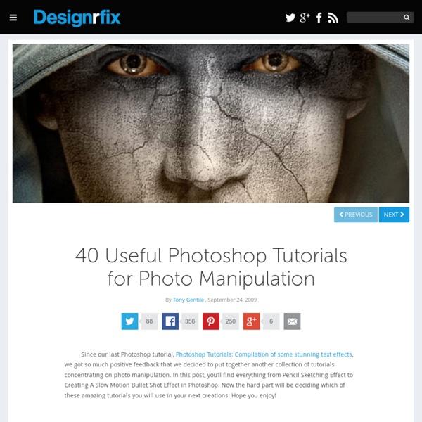 40 Useful Photoshop Tutorials for Photo Manipulation