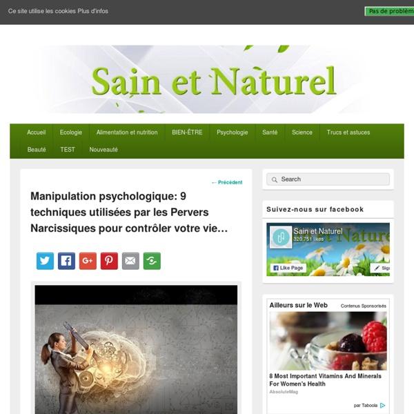 Sain et Naturel