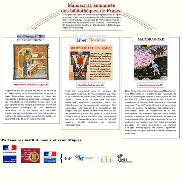 BNF Manuscrits enluminés