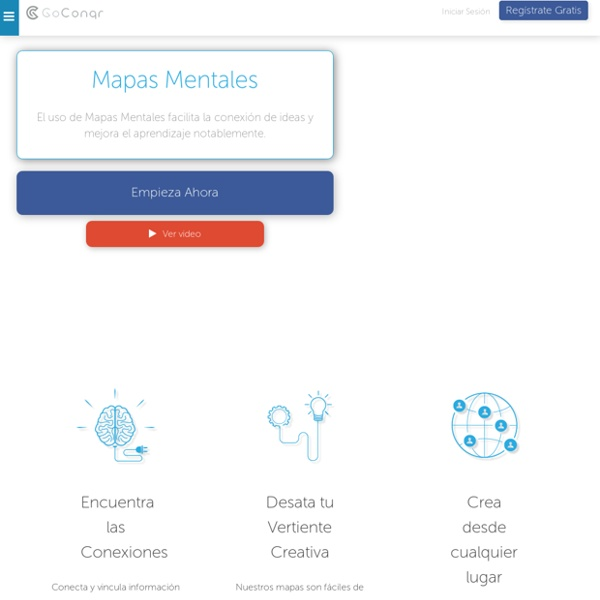 Mapas Mentales - GoConqr en Español