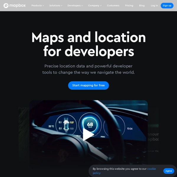 Design and publish beautiful maps